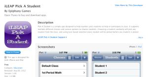 Pick a student