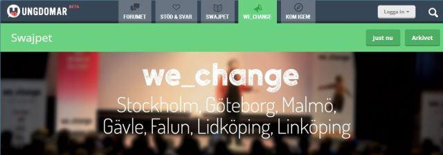we change 9