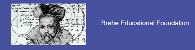 Established in 2009, Brahe Educational Foundation is a Swedish nonprofit foundation that  arranges lectures and seminars and other programs by prominent academics in the physical and behavioral sciences, and in business and the arts, to faculty and students at Swedish educational institutions and other venues with the public invited.  Thus far it has arranged 14 programs, including two by Nobel  laureates.