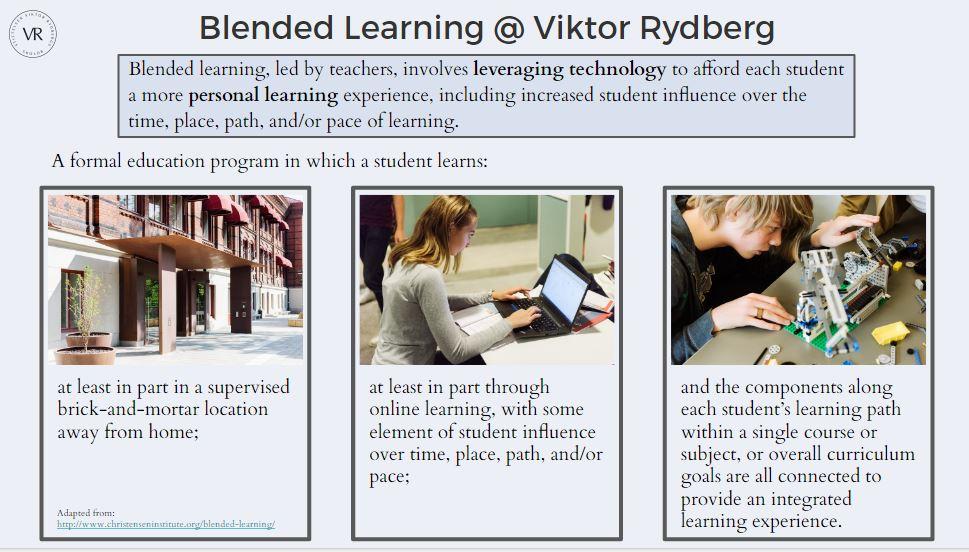 blended learning vrg